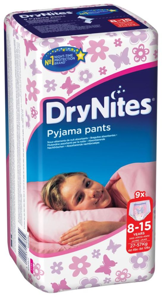 Kimberly-Clark launches DryNites Pyjama Pants for bedwetting